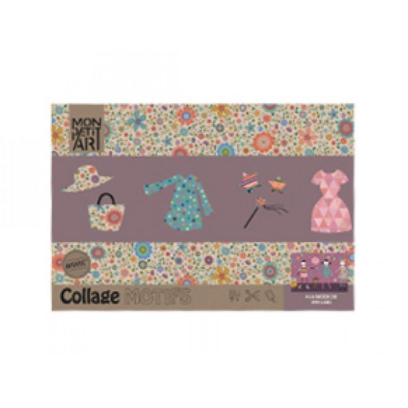 Kleur- en plakboek Mode, Mon Petit Art