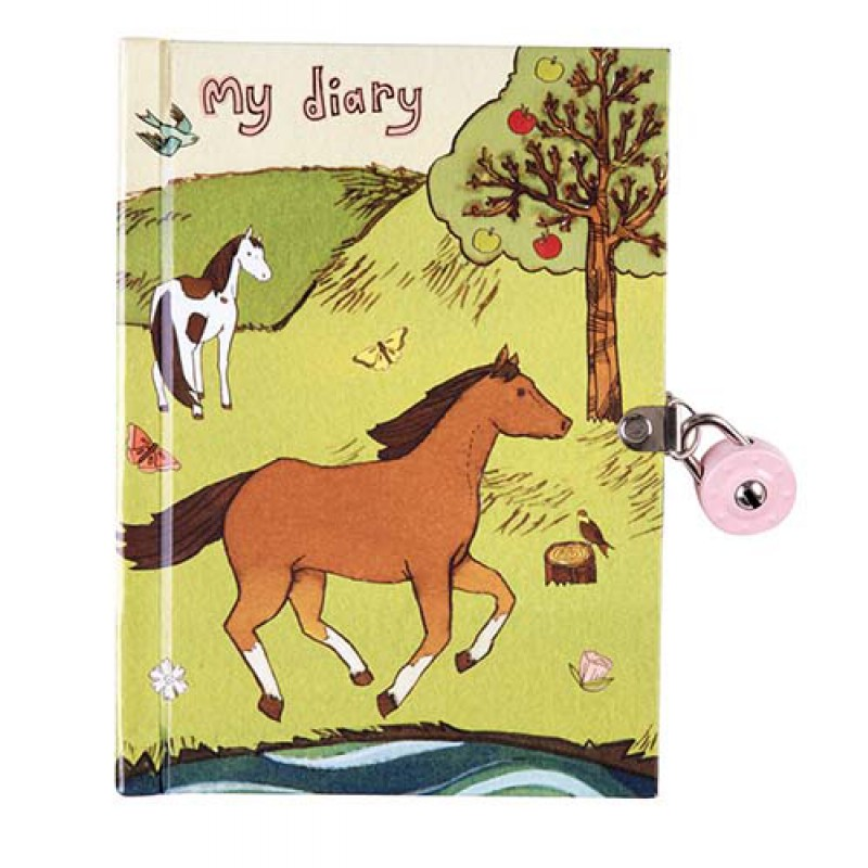 Dagboek met slot Horse Friends, Mudpuppy