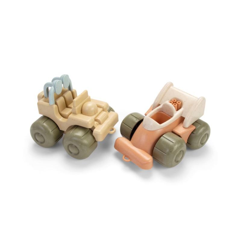 BIOplastic racer & jeep, Dantoy