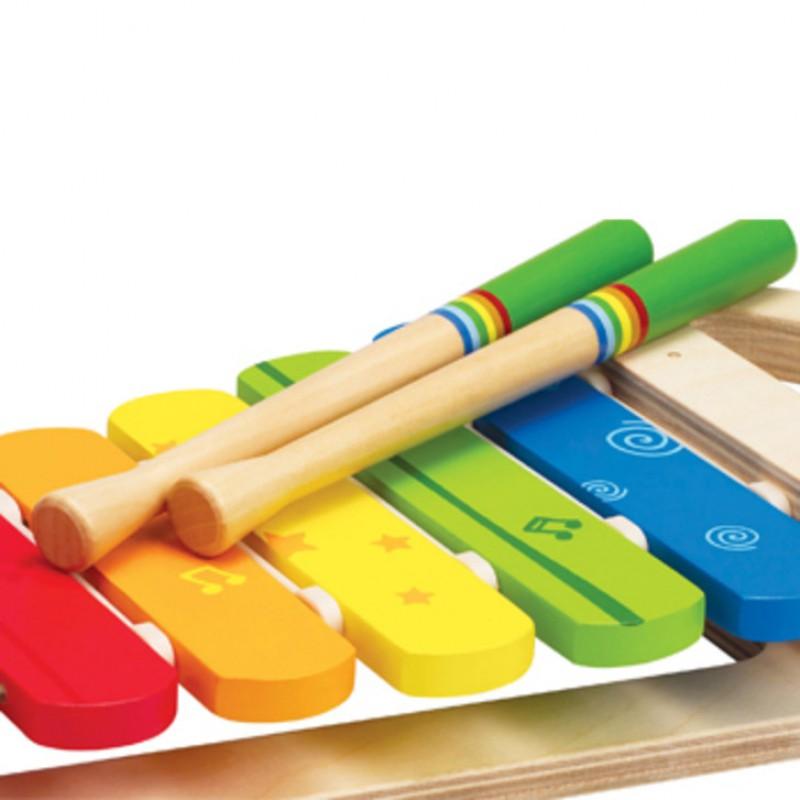 Regenboog xylofoon, Hape