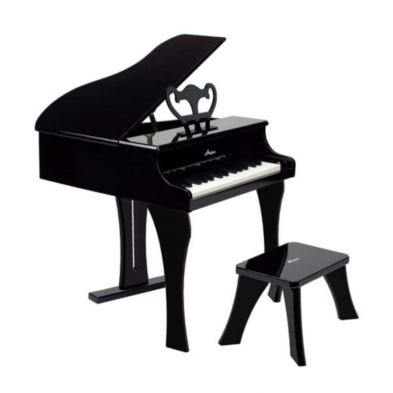 Happy Grand Piano zwart, Hape