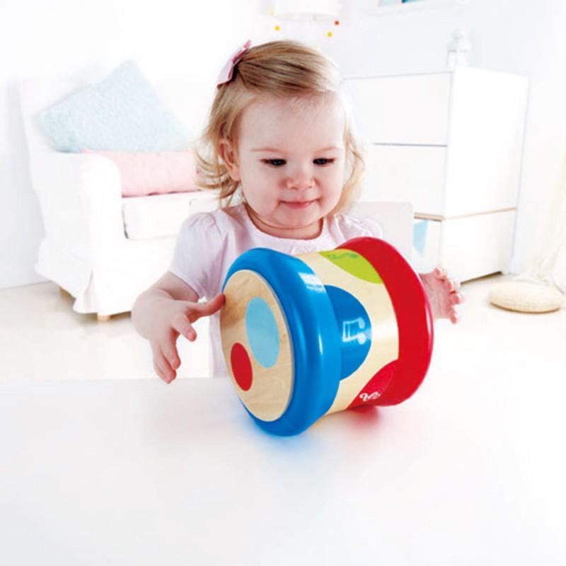 Baby trommel met licht en geluid, Hape