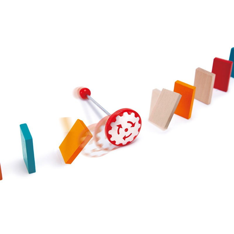 Mighty Hammer houten domino, Hape