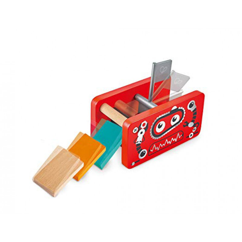 Robot Factory houten domino, Hape