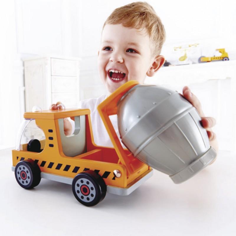 Mix 'N Truck cementwagen, Hape