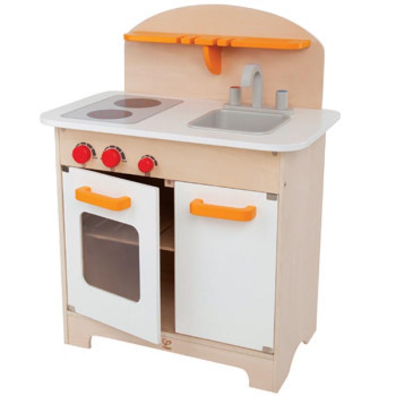 Gourmet wit houten keukentje, Hape