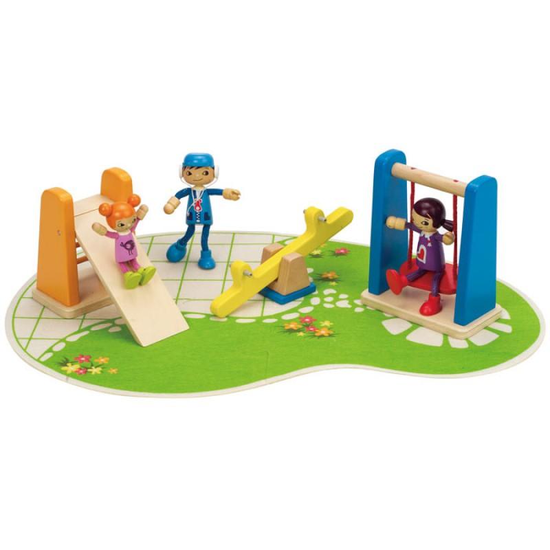 Speeltuin poppenhuis, Hape