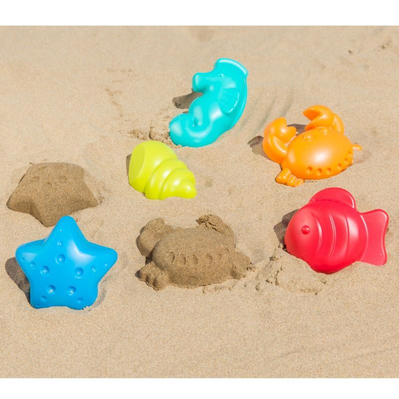 Zandvormen zeedieren, Hape