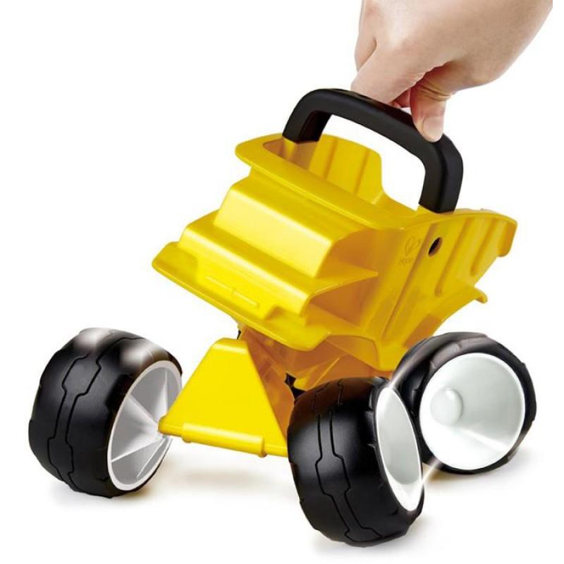 Gele kiepwagen, Hape