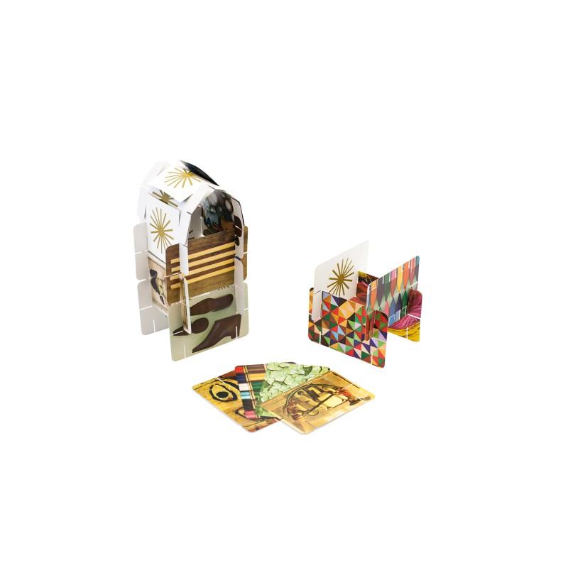 Eames House of Cards, klein kaartenhuis