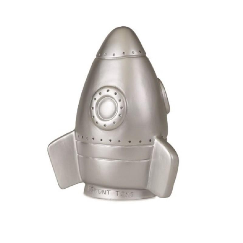 Led-lamp zilveren raket, Egmont Toys