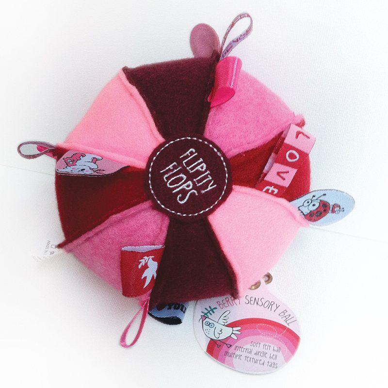 Berry bal Flipity Flop, OB Designs