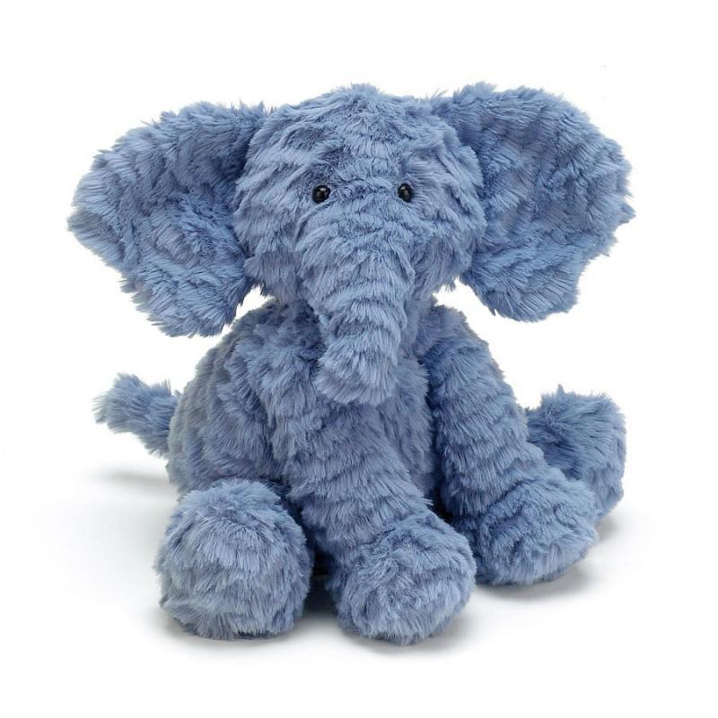 FW6EUK Fuddlewuddle olifant L, Jellycat