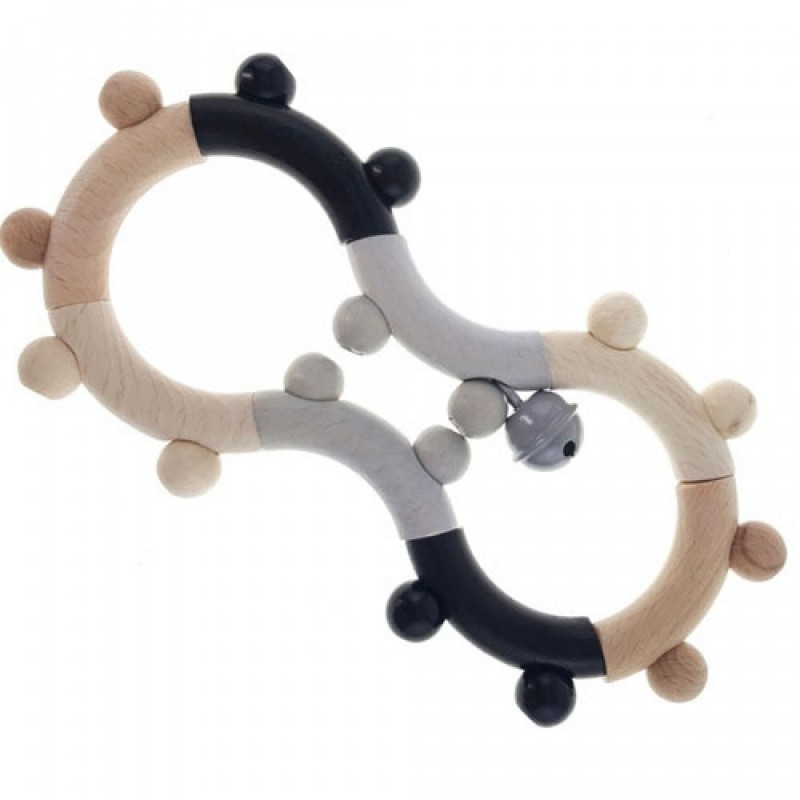 Flexibele rammelaar Acht monochrome, Hess
