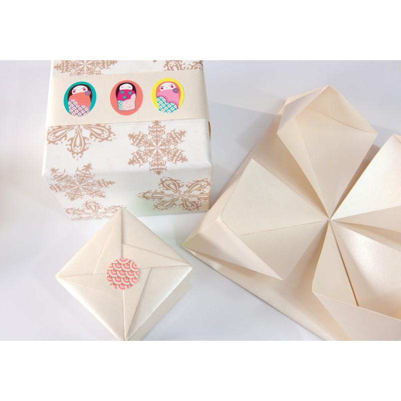 Luxe stickerboekje Japan, Mon Petit Art