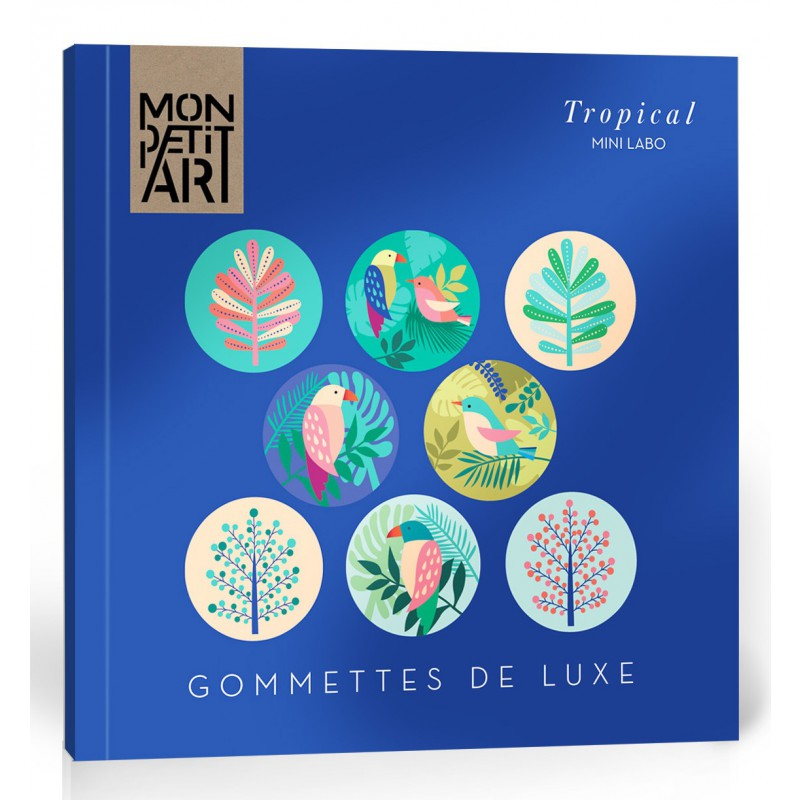 Luxe stickerboekje Tropical, Mon Petit Art