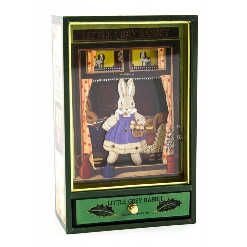 Grote muziekdoos Little Grey Rabbit