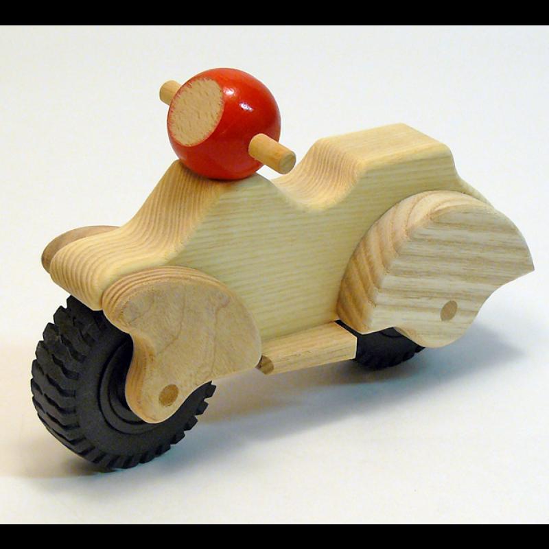 Houten scooter, Goochem