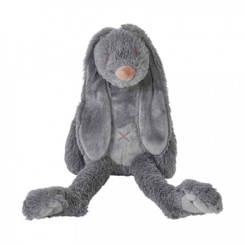 Konijn Richie deep grey 38 cm, Happy Horse