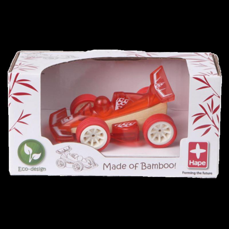 Bamboe auto Racer, Hape