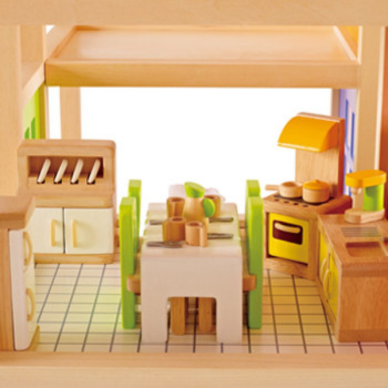 Keuken poppenhuis, Hape