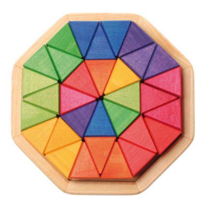 Houten puzzel octagon, Grimm's
