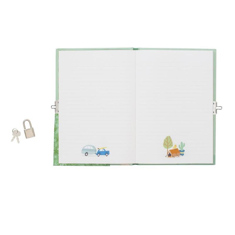 Dagboek met slot My Holiday Journal, Tiger Tribe