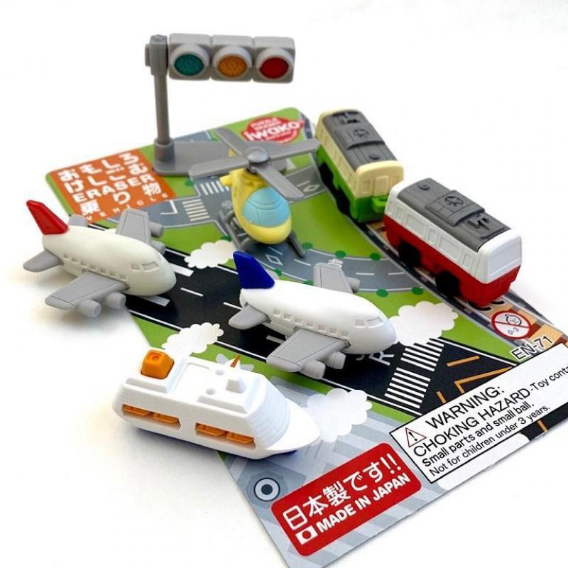 Puzzelgummen Voertuigen, Iwako