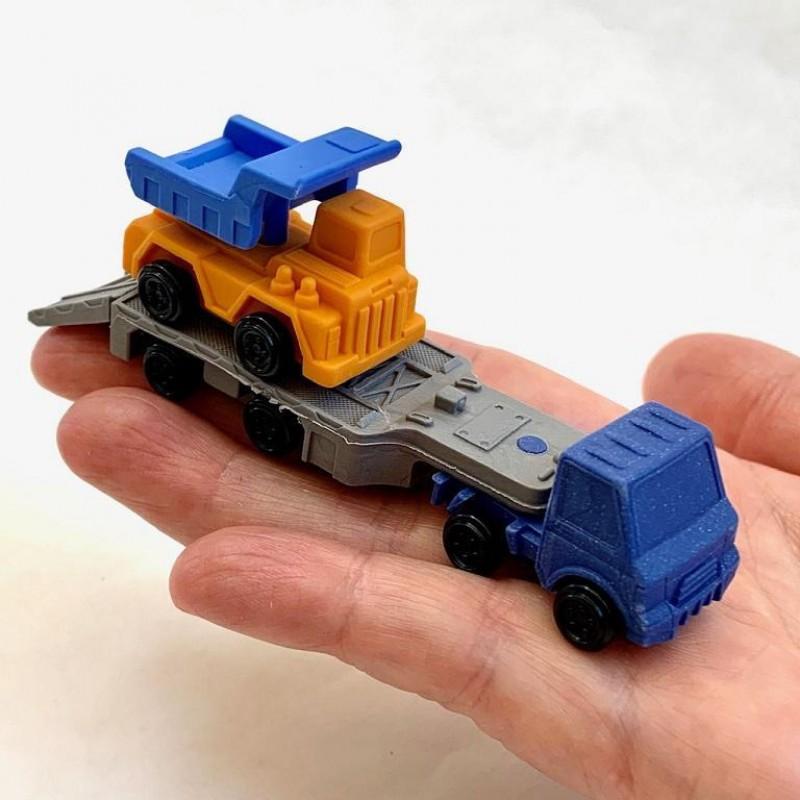 Puzzelgummen Trailer truck, Iwako
