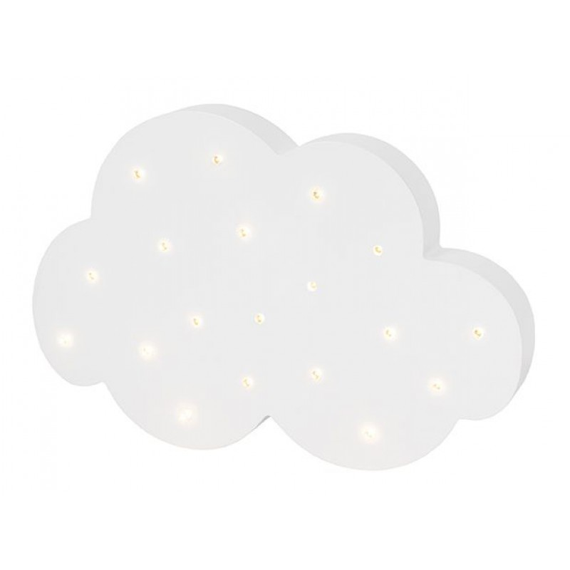 Houten lamp wolk, JaBaDaBaDo