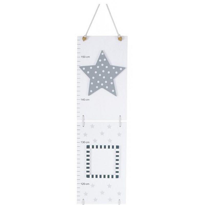 Houten groeimeter ster, JaBaDaBaDo