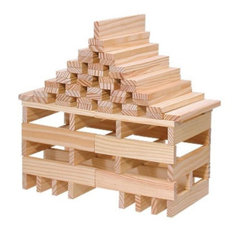 Kapla kist met 100 plankjes