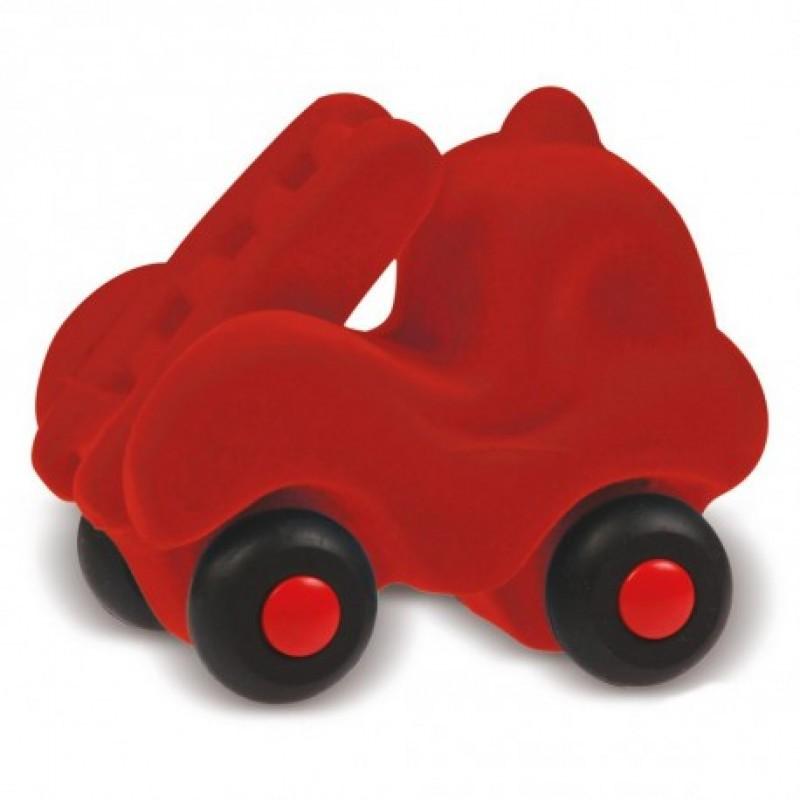 Kleine brandweerauto rood, Rubbabu