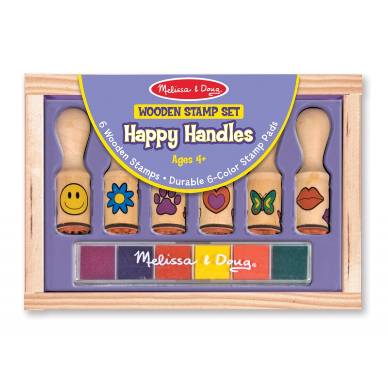 Stempelset Happy Handles, Melissa & Doug