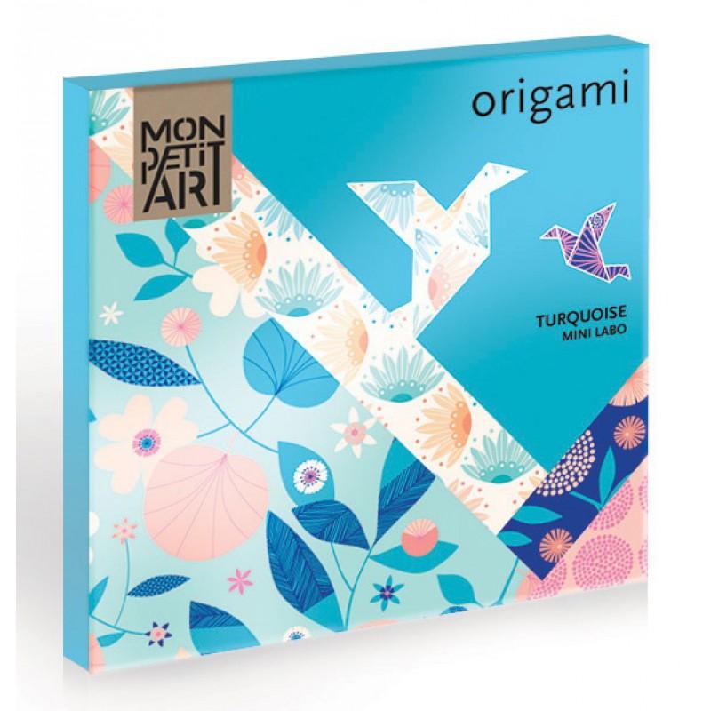 Origamipapier turquoise, Mon Petit Art