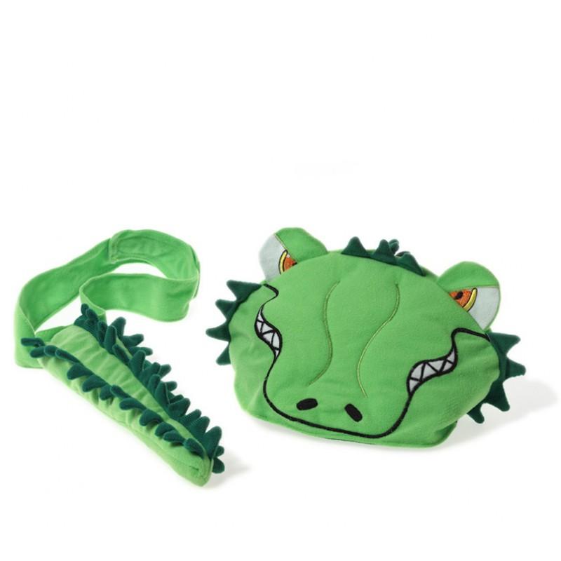 Dierenmuts en staart krokodil, Oskar & Ellen