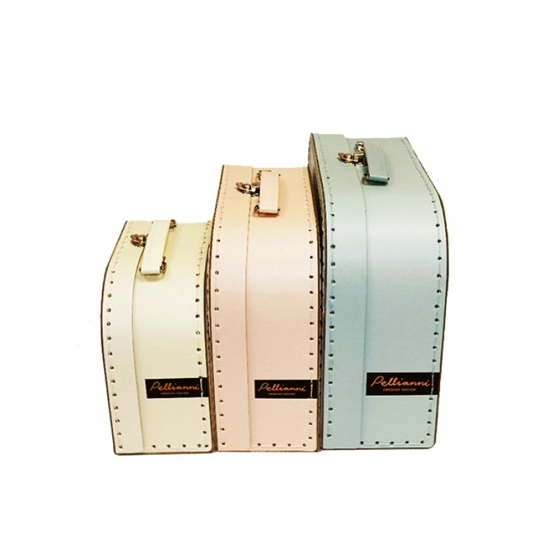 Geel koffertje Space S, Pelli Anni