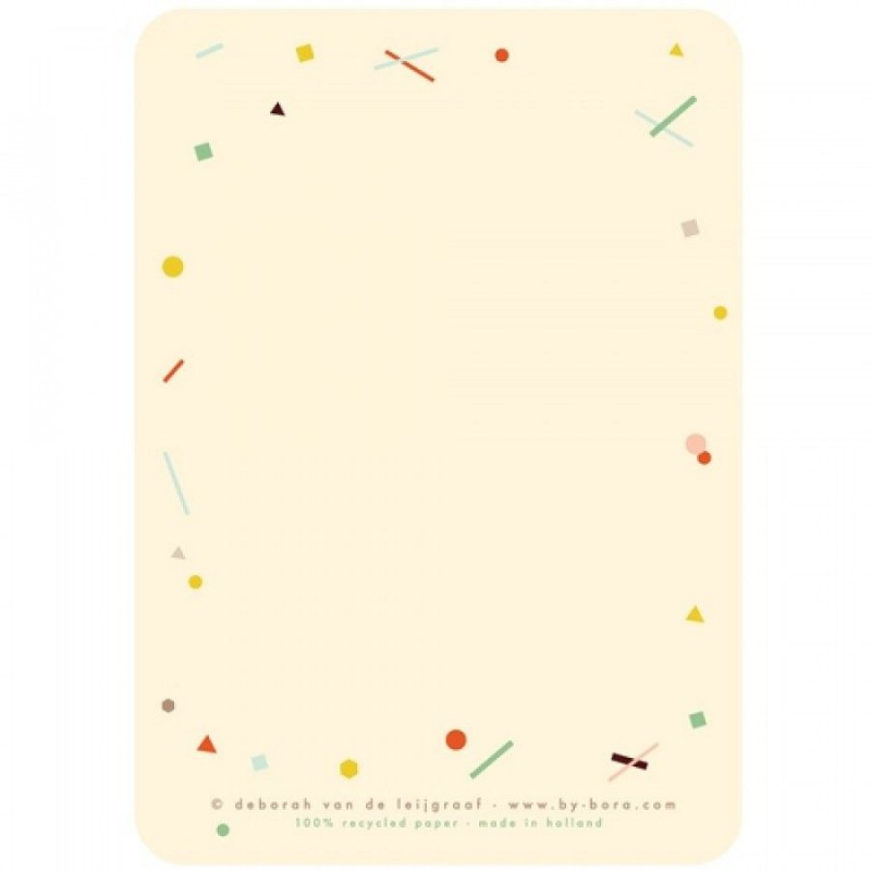 5 Tijger kaart & envelop, Bora