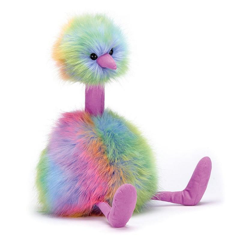 Regenboog Pompom. Jellycat