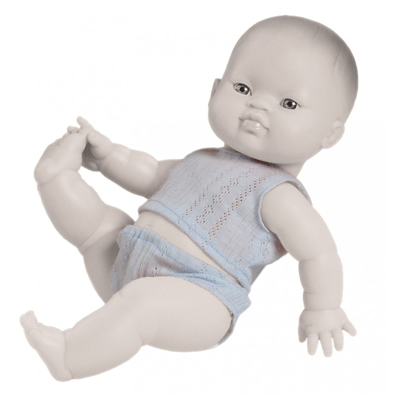 Blauw ondergoed babypop 30-35 cm, Paola Reina