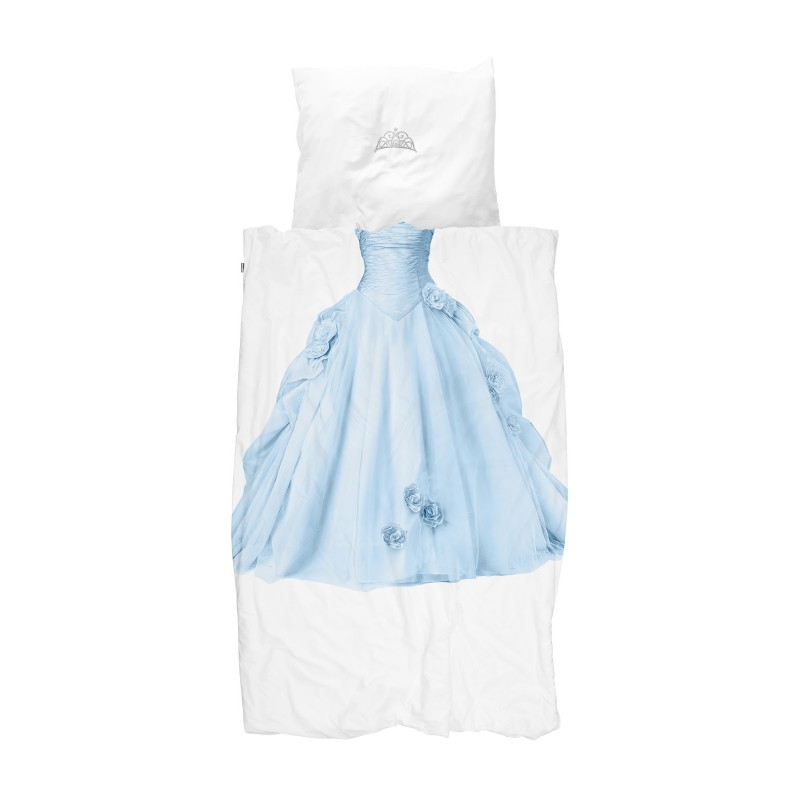 Dekbedovertrek Prinses blauw, Snurk