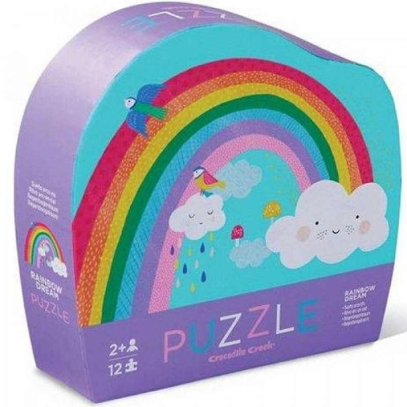 Puzzel Rainbow Dream 12 st., Crocodile Creek