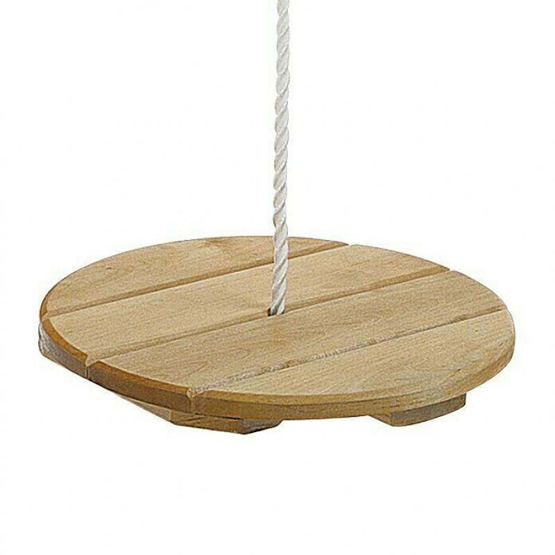 Ronde houten schommel