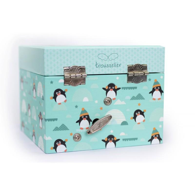 Muziekkistje pinguins