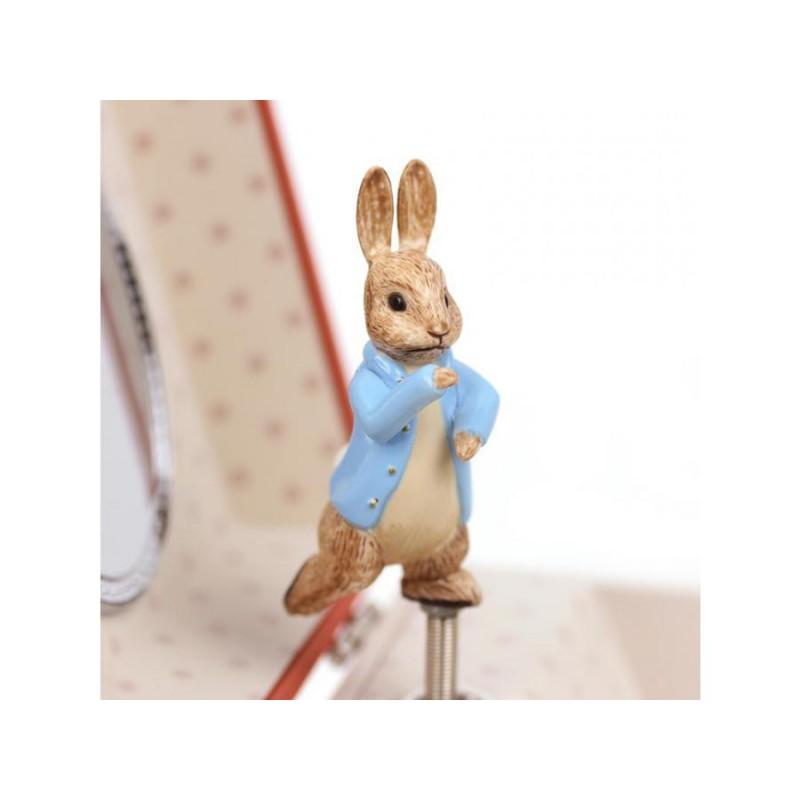 Muziekkistje Peter Rabbit roze