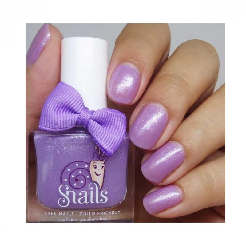Purple Comet afwasbare kindernagellak, Snails