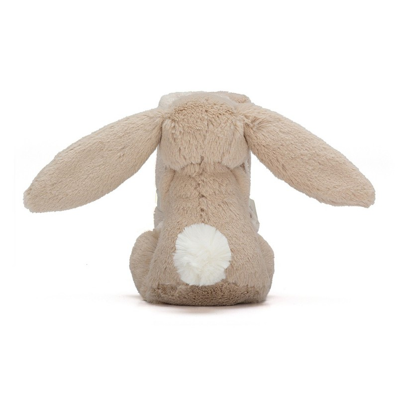 Knuffeldoekje beige konijntje, Jellycat