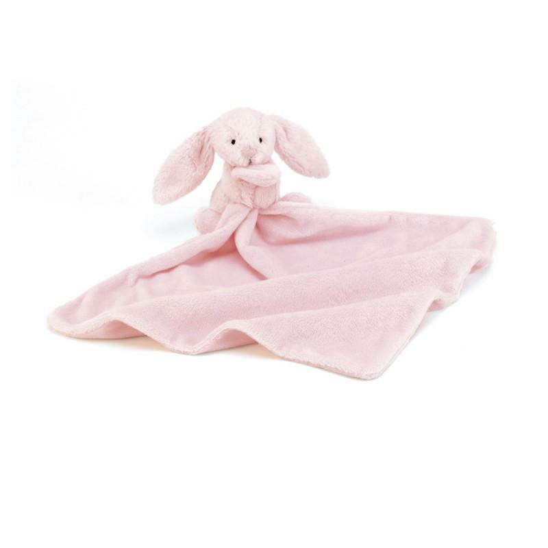 Knuffeldoekje roze konijntje, Jellycat