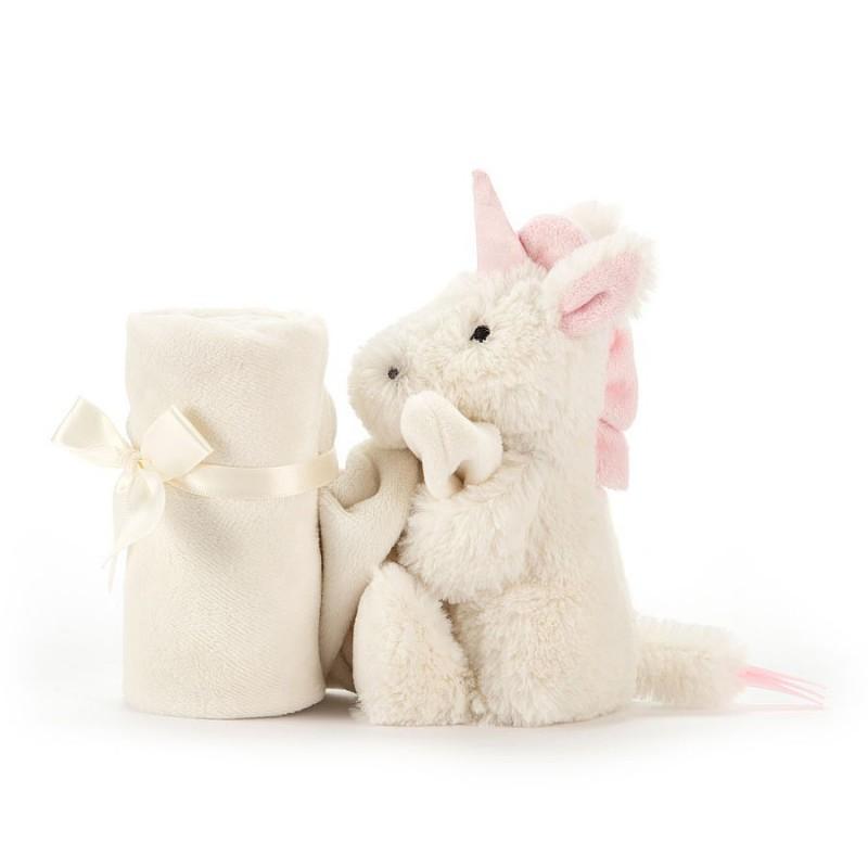 Knuffeldoekje eenhoorn, Jellycat Bashful