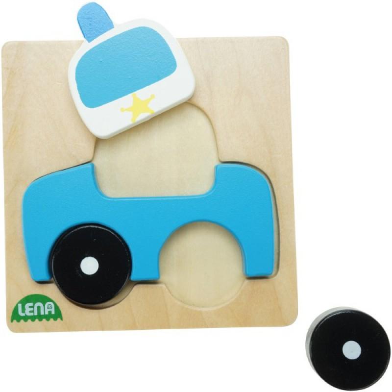 Mijn eerste puzzel Politie, Lena